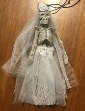 Katherine's Collection Halloween Bride Skeleton Ornament—Retired