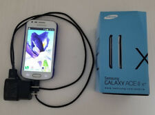 White Samsung Galaxy Ace 2 GT-S7560M w Case & Charger Cable UNLOCKED No Contract