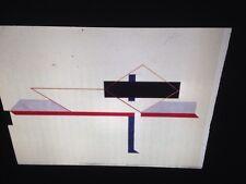 "El Lissitzky ""Proun Composition1922"" Russian Poster Art 35mm Glass Slide"