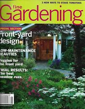 Fine Gardening magazine Front yard design Vegetables Best meadow rues Tomatoes