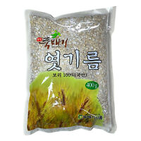 100% Korean Malted Barley Flour Powder 400 g / 0.88 Lb 엿기름 가루 - Origin Korea
