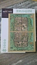 PUZZLE 1000 PIECES JERUSALEM , MAP 1588, GEORGIOUS, POMEGRANATE