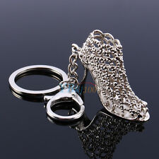 1pc Crystal High Heel Shoe Pendant Keyring Keychain Key Bag Chain Ring Gift