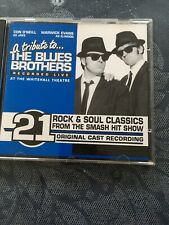 Con O'Neill & Warwick Evans ‎– A Tribute To The Blues Brothers Recorded Live cd