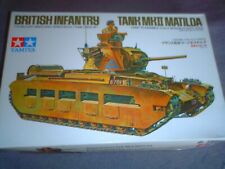 TAMIYA 1/35 SCALE WWII BRITISH INFANTRY TANK MK.II MATILDA OLD VER K/NO 35024