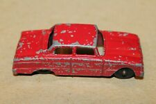 NICE TOOTSIETOY RED 1960 FORD  FALCON SEDAN