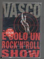 VASCO ROSSI E' SOLO UN ROCK'N'ROLL SHOW 2 DVD SIGILLATO!!!