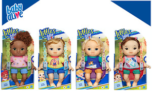 Littles by Baby Alive Little Gabby Maya Zack Astrid New! Great Gift! Sale! NEW!!