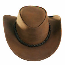 Accessoires cow-boy/western marron en cuir pour homme