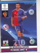 PANINI FOOT TRADING CARD CHAMPIONS LEAGUE BEHRANG SAFARI FC BASEL 1893