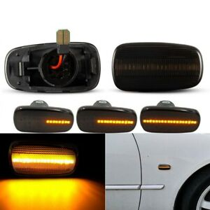 Dynamic LED Side Marker Blinker Lights For Toyota Prius Kluger Wish Altezza Isis