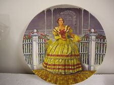 "Gone With The Wind ""Melanie"" 1980 Porcelain Plate"