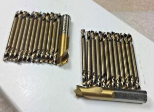 Cobalt Auto Body Kit 12 PCS ea. #30 & 1/8 Double End Drill & 2 Spot Weld Drill
