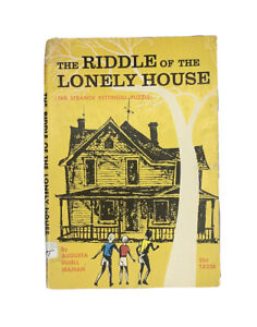The Riddle of the Lonely House, 1964  Vintage Scholastic PB TX236