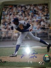 Fergie Jenkins Signed 8X10 Photo Autograph Chicago Cubs w/COA Naxcom