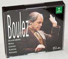 CD Boulez-Schoenberg-Berio-Carter - Kurtág-Xenakis - 5cd-box