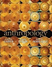 Anthropology by Melvin R. Ember, Peter N. Peregrine and Carol R. Ember (2010,...