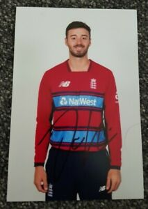 England Cricket James Vince Hand Signed 6x4 photo