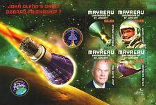 NASA Astronaut JOHN GLENN/Friendship 7/Mercury/Space Shuttle Stamp Sheet #1