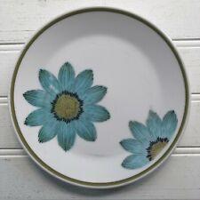 Noritake Progression Up Sa Daisy Bread & Butter Plate Blue Flowers Vintage Japan
