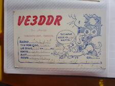 OLD VINTAGE QSL HAM RADIO CARD. TORONTO, CANADA.