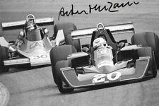 Arturo Merzario firmato, WOLF-Williams FW05, AUSTRIACO GP osterreichring 1976