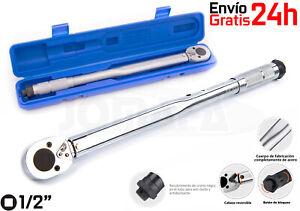 "LLAVE DINAMOMETRICA CARRACA TORSION AUTOMATICA 1/2"" 28-210 Nm apriete - 6905"