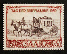 Timbre SARRE ALLEMAGNE/SARRE GERMANY Stamp -Yvert Tellier n°270 Nsg (Col7)