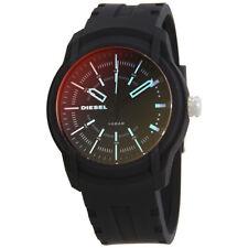 Diesel Armbar Black Dial Mens Silicone Watch DZ1819
