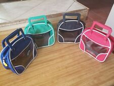 MINI BALL BOWLING BAGS/BOWLING BAG PURSE- SET OF 4