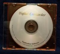 Pre-owned ~ Digital Camcorder for Varous Cameras Application Software PC CD-ROM