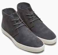 NEXT Men's Grey Lace Up Mid Boots / Shoes - size UK 10 / EU 44