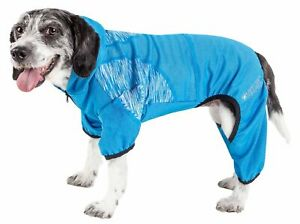 Pet Life  Active 'Pawsterity' Heathered Performance 4-Way Stretch Two-Toned F...