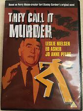 Leslie Nielsen Jessica Walter They Call It Murder ~1971 Mistero drammatico DVD