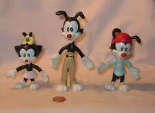 Warner Bros Animaniacs Dot, Wakko & Yakko Bendable Figure; By Just Toys 1994