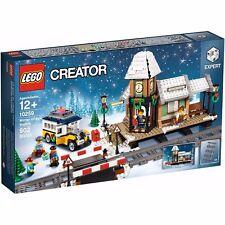 LEGO 10259  Seasonal Christmas  Winter Village Train Station