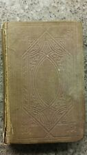 Hymns of The Christian Life Book. Oswald Allen Hymnal Prayer Book 1861