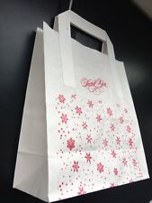 """15 X Thank You/ Gift/ Party Bags .  Paper Bags Printed On Both Side (7x9x3.5"""")"""