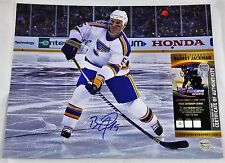 BARRET JACKMAN 11x14 Autographed Photo Signed COA St Louis BLUES Winter Classic