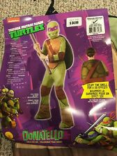 Boys Halloween Costume Size Medium Teenage Mutant Ninja Turtles Donatello Nos