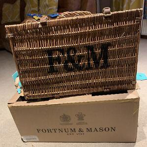 Fortnum & Mason Birthday Hamper BNIB Next Picnic Basket royal blend tea cake etc