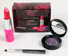Laura Geller Smoldering Skies For Eyes And Lips 3 Pc Set New In Box