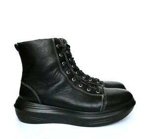 KyBoot KYBUN Arosa Black Boots EU 39 / US 8.5 / UK 5.5 Orthopedic Comfort Shoes