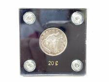 1875-CC Twenty Cent Piece SCARCE VF Details - Nice Coin