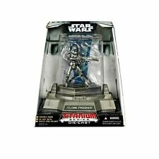 """Star WARS TITANIUM en fonte de métal 4 """"clonetrooper figure jouet en cas de collection"""