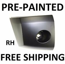 NEW Painted to Match - RH Front Bumper End Cap for 2004-2007 Nissan Titan LE SE