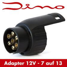 Dino Anhänger Kurz Adapter Stecker Kurzadapter 7 auf 13 polig Steckdose
