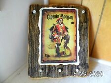 Handmade Wooden Captain Morgan Pirate Sign/Key Holder 2020
