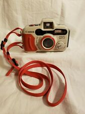 Canon Sure Shot WP-1 Weather Resistant 35mm Film Camera With Strap, Untested