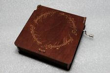The Lord Of The Rings Music Box - One Ring Inscription - Aragorn Frodo Gandalf